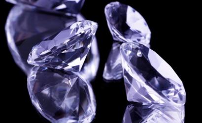 diamant mauve