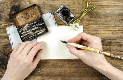 écrire une lettre à l'univers